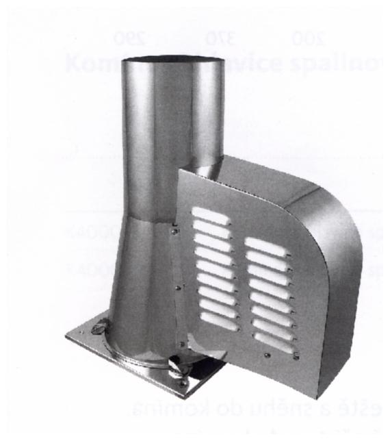 Komínový ventilátor KARL M500