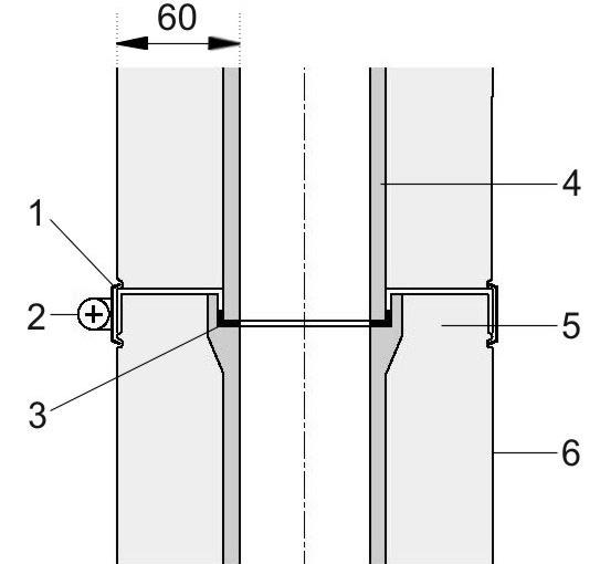 Detail spojení vložek komínu Schiedel KERASTAR