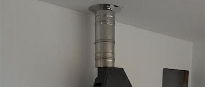 Svislé kouřovody s funkcí komínu